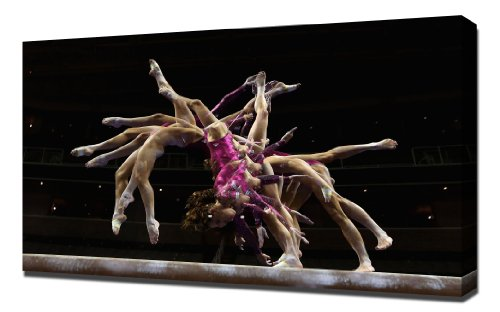Gymnastics Mckayla Maroney 3   Canvas Art Print