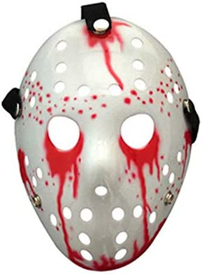Dodom Jason Voorhees Scary Mask Freitag Der 13 Horrorfilm Hockey Halloween Kostum A Amazon De Kuche Haushalt