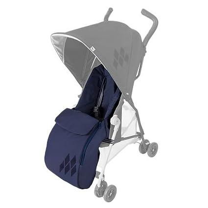 Maclaren Mark II - Saco de abrigo para silla de paseo, color azul