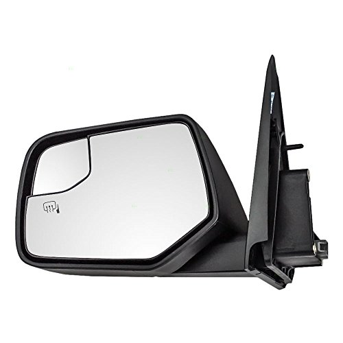 Ford Blind Spot Mirror - Drivers Power Side View Mirror Heated Blind Spot Glass Textured Replacement for Ford Mercury SUV AL8Z-17683-CA