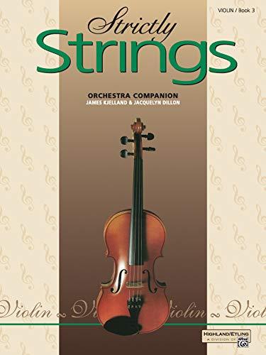 (Strictly Strings, Book 3: Violin)