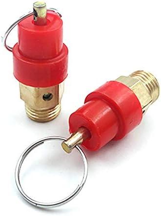50 13 1//48KG Compressore daria valvola di rilascio di sicurezza Valvola di scarico regolatore di scarico della pressione per macchina schiuma fornitura acqua macchina-oro 13