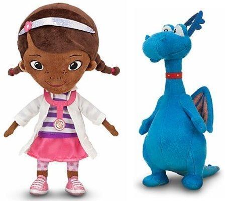 (Disney Store/Disney Jr. Doc McStuffins Plush Doll Gift Set Including 12 1/2
