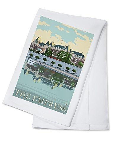 (Victoria, British Columbia, Canada - The Empress Hotel (100% Cotton Kitchen Towel))