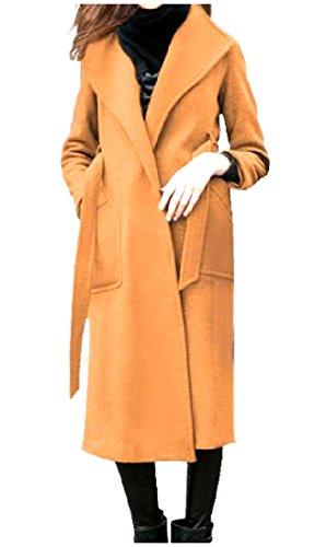 XiaoShop Camel Wool Blazer 2019