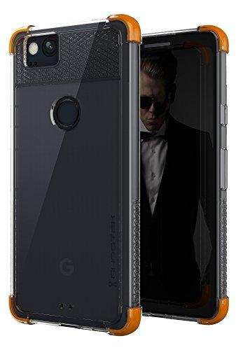 (Ghostek Covert Clear Google Pixel 2 Case | Premium Hybrid Armor Protection | Fingerprint Compatible | Silicone Gel Corners Serve as a Shock Cushion |)