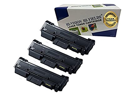 HI-VISION Compatible Samsung MLT-D116L High Yield Black Toner Cartridge Replacement for Xpress M2885FW, M2835DW, M2825FD, M2875FW, M2875FD, M2625D Laser Printers (1 pack)