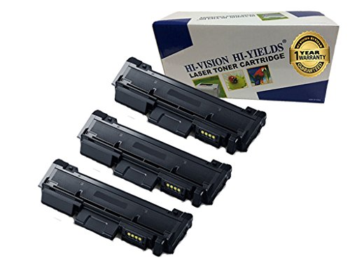- HI-Vision Compatible Samsung MLT-D116L High Yield Black Toner Cartridge Replacement for Xpress M2885FW, M2835DW, M2825FD, M2875FW, M2875FD, M2625D Laser Printers (3 Packs)