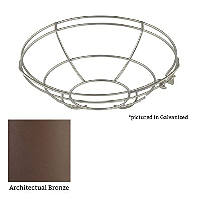 """Millennium Lighting RWG14 R Series 14"""" Wire Guard Accessory, Architectural Bronze"""