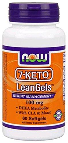 7 KETO LeanGels 100mg Softgels Pack