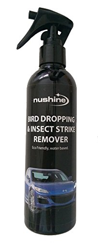 Nushine Bird Dropping and Insect Strike Remover Spray 8.5oz (Eco-friendly formula)