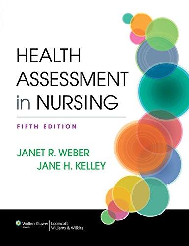 Health Assessment in Nursing Pdf