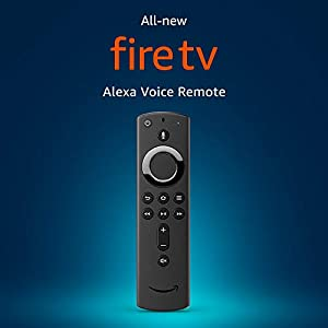 All- Alexa Voice Remote with power and volume controls from Amazon