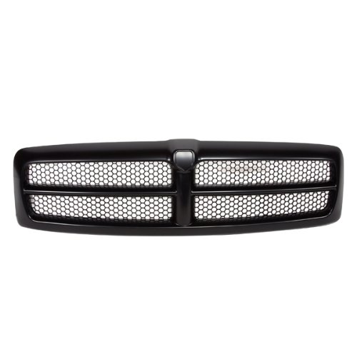 CarPartsDepot, Sport Package Front Grille Black Honey Comb Mesh Grill Pickup Truck, 400-171193 CH1200245 QR33DX8AE (Truck Grille)