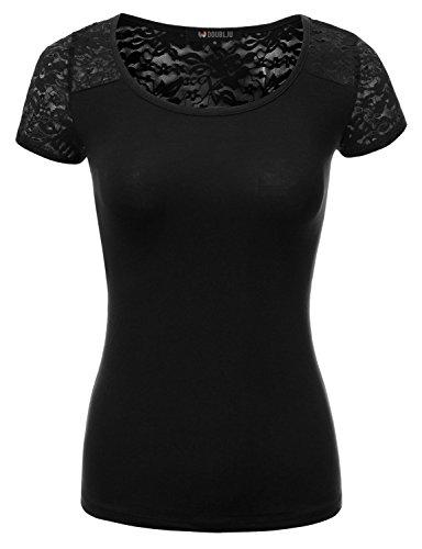 Doublju Short Sleeve Floral T shirt product image