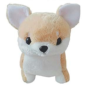 Amazon.com: Yanbirdfx - Cojín de peluche con diseño de perro ...