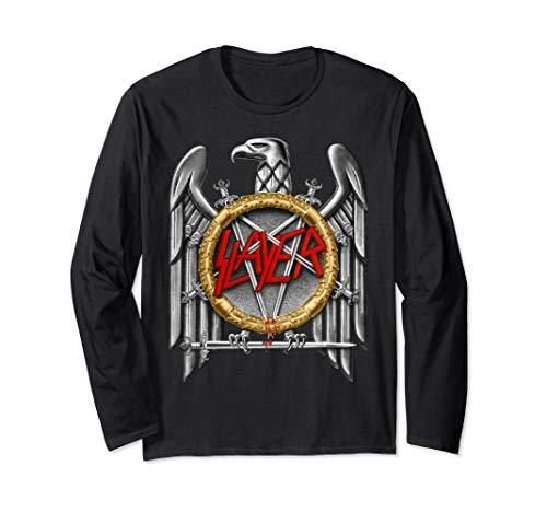 GM- Slayer silver eagle  Long Sleeve - Eagle Slayer T-shirt