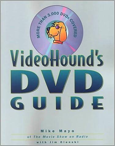 Book Videohound's DVD Guide