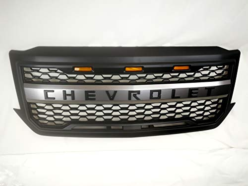ORB Black Grille For 2016-2018 Chevrolet Silverado 1500 Front Grill Grille w/CHEVROLET logo ()
