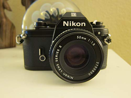 Nikon Em 35mm Film Camera SLR Body W/lens 50mm (Mm Nikon Film Slr 35)