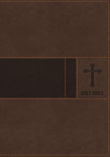 Niv Gift (NIV, Gift Bible, Leathersoft, Brown, Red Letter Edition)