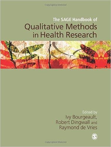 The SAGE Handbook of Qualitative Methods in Health Research: Amazon