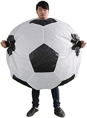 YXZOZZ Disfraz de Halloween Inflable Copa del Mundo Fútbol Etapa ...