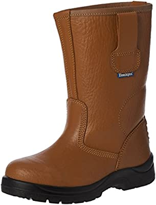 6817ae83f6f Himalayan Hygrip Rigger, Unisex Adults SRC Safety Boots, Brown (Tan ...
