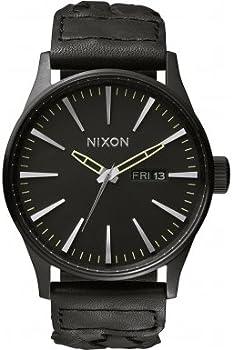 Nixon Sentry Black Dial Mens Watch