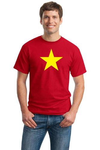 VIETNAM FLAG Unisex T-shirt / National Vietnamese Star, Historic Costume Tee