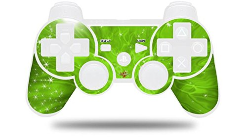 Sony PS3 Controller Decal Style Skin - Stardust Green (CONTROLLER NOT INCLUDED)