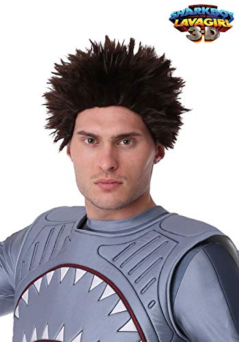 Fun Costumes Exclusive Adult Sharkboy Wig Standard -