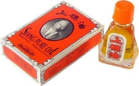 1 bottles of Medicated Oil SIANG PURE OIL 7CC Herbal Popular Nasal Inhaler (Original Formula1)