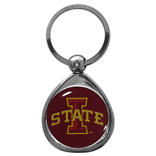 Iowa State Chrome Metal (NCAA Iowa State Cyclones Key Chain, Metal/Chrome)