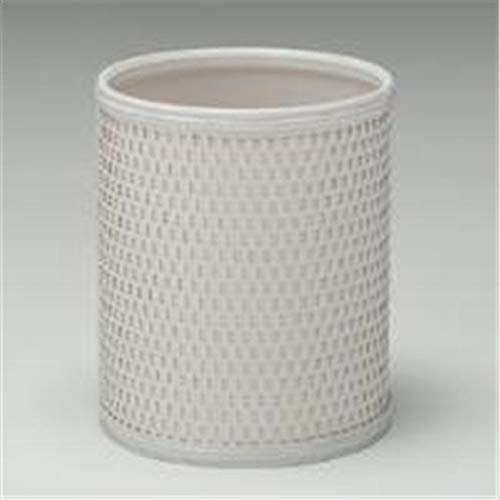 OKSLO Cream chelsea collection round wastebasket