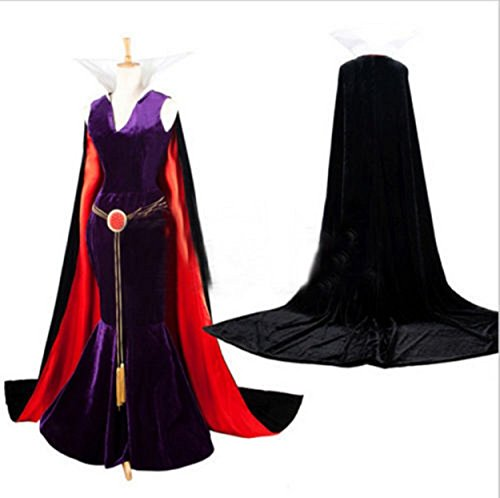 bigonsale Women's Costume Dress for Snow White Evil Queen (S Size for US (The Evil Queen Snow White Costume)