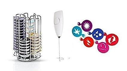 Bosch Tassimo Portacápsulas para 52 Pieza T-Discs - 574959 - Dispensador de cápsulas Estante