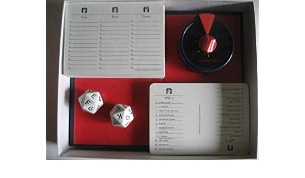 Scattergories Vintage 1988 Version by Milton Bradley: Amazon.es: Juguetes y juegos