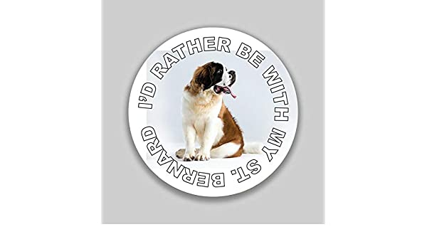 I/'d Rather Be With My Husky Decal Sticker Dog Mom Dad Animal Lover