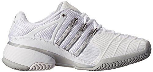 adidas Performance mujer Barricade V Classic W–Zapatillas de tenis White/silver/grey