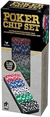 100ct 11.5gr Poker Chips