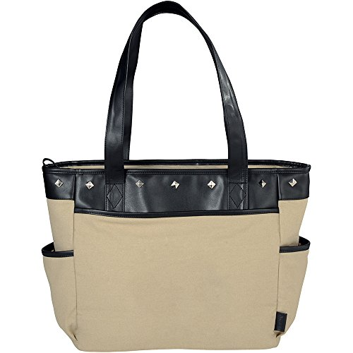 Fine Society Nicole Icon Compu - Tote - 12 Quantity - $32.80 Each - PROMOTIONAL PRODUCT / BULK / BRANDED with YOUR LOGO / CUSTOMIZED by Sunrise Identity (Image #2)