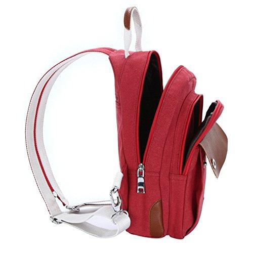 Mochila multifuncional mochila bolsa de viaje bolsa de viaje Rojo