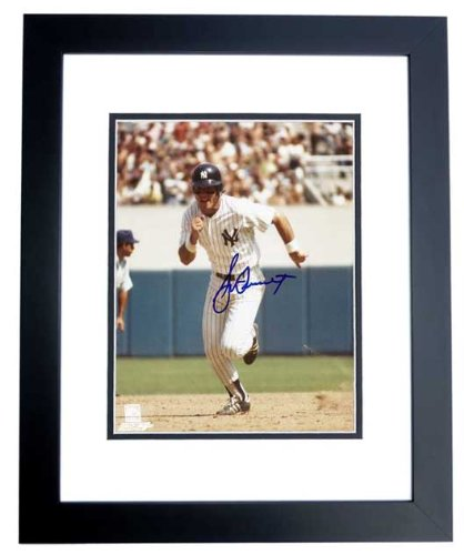 - Bucky Dent Signed - Autographed New York Yankees 8x10 inch Photo BLACK CUSTOM FRAME