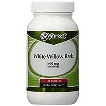Vitacost White Willow Bark -- 800 mg per serving - 100 Capsules
