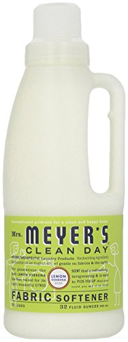 Mrs. Meyer's Clean Day Fabric Softener, Lemon Verbena, 32 fl (Lemon Verbena Fabric Softener)