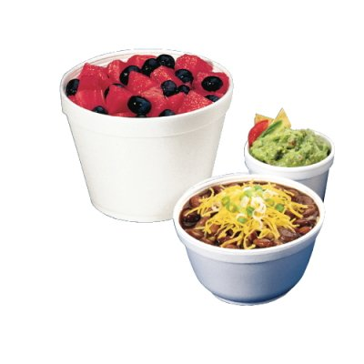 Dart Container 6SJ12 Squat Foam Containers, 6 Ounce (6SJ12DART) Category: Foam Food Containers