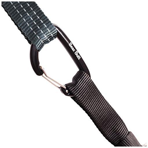 Bear Butt Aluminum Wire Gate Carabiner