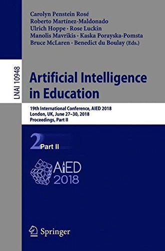 Artificial Intelligence in Education: 19th International Conference, Part II Front Cover