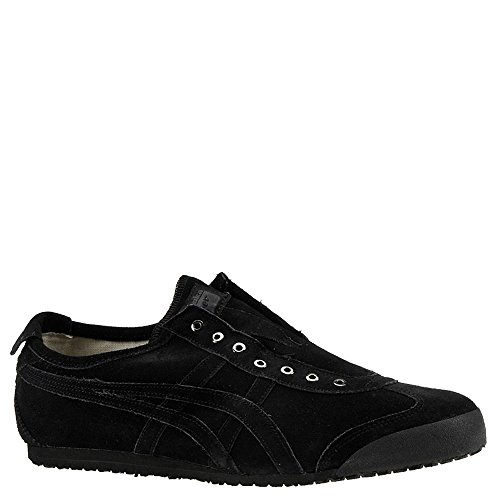 Onitsuka Tiger Unisex Mexico 66 Slip-on Shoes D7L1L, Black/Black, 7 M US